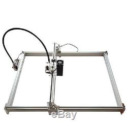 10W USB CNC Laser Engraver Metal Marking Machine Wood Cutter 50cm65cm DIY Kit