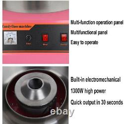 1300W Electric Commercial Cotton Candy Floss Maker Machine Xmas Party