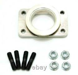 1320 PERFORMANCE Precision v-band to T3 style flange CNC machined stainless