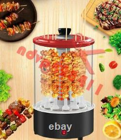 220V 1100W Electric Barbecue Grill Skewer Machine Vertical Automatic Rotating