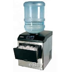 33 Lb/Day Table Top Ice Maker Making Machine Portable for 5 Gallon Water Bottle
