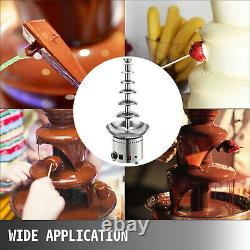 7Tier Chocolate Fountain Commercial Chocolate Fountain Machine Stainless Steel
