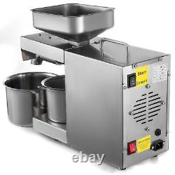Automatic Oil Extractor Nut Seeds Olive Oil Expeller Oil Cold Hot Press Machine