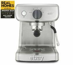 BREVILLE VCF125 Mini Barista Coffee Machine Stainless Steel Currys