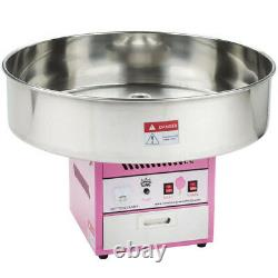 Carnival King CCM28 Cotton Candy Machine 28 Stainless Steel Bowl 110V