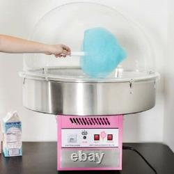 Carnival King Electric Commercial Cotton Candy Machine Maker Fair Concession New