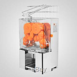 Commercial Auto Feed Orange Juicer Machine Stainless Steel 22-30pc