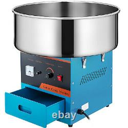Electric Commercial Cotton Candy Machine 1030w Floss Maker 21 Store Booth