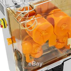 Electric Commercial Orange Juicer Squeezer Juice Machine Stainless Steel 20-25pc