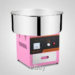 Electric Cotton Candy Machine Cover Cart Sugar Candy Floss Maker Commercial DIY