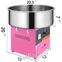 Electric Cotton Candy Machine Fairy Floss Sugar Maker Party Supplies Commercial