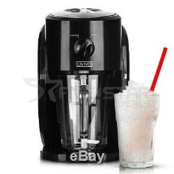 Electric Ice Crusher Snow Cone Maker Stainless Steel Shaved Ice Machine Home New