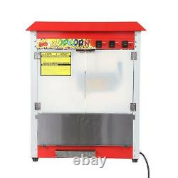 Electric Popcorn Maker Commercial Cinema Popcorn Machine 8 OZ For Home Party Fun