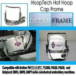 Embroidery Machine Hat Hoop Cap Frame Dream Frame For Brother PRPCF1