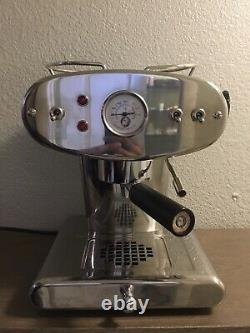 Francis Francis Stainless Steel X1 Espresso Maker Machine Made In EU 220-230V