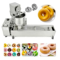 Home/Commercial Automatic Donut Maker Making Machine Wide Oil Tank Electric 220V