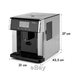 Ice Cube Machine Maker Stainless Steel 3 Ice Sizes 15 kg / day LCD Silver