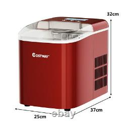 Ice Maker Machine 2.1L Stainless Steel Bullet Shaped Ice Cube Ready in 7 Mins
