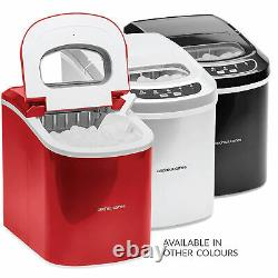 Ice Maker Machine Compact Portable Countertop Ice Cube Maker 2.2L Andrew James