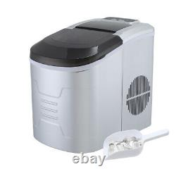 Ice Maker Stainless Steel ABS Machine Counter Top Bullet Ball 2 Size Party Drink