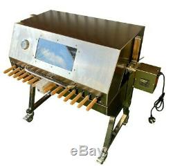 Large Cypriot BBQ Spit Rotisserie Hog Roast Machine in Stainless Steel! SALE