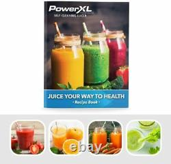 PowerXL Self-Cleaning Juicer Machine Centrifugal Juice Extractor As Seen On TV