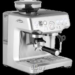 Sage BES875UK The Barista Express Espresso Coffee Machine 15 bar Brushed Steel