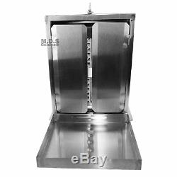 Trompo Tacos Al Pastor Authentic Mexico Machine Heavy Commercial Stainless Steel